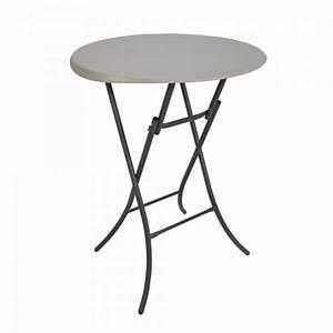 Mange Debout 6 Personnes : table mange debout sans housse 4 your party ~ Teatrodelosmanantiales.com Idées de Décoration
