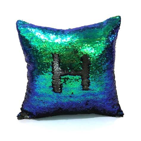 reversible sequin mermaid pillow reversible mermaid sequin pillow cover cushion cover 4840