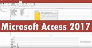Microsoft Office Access 2017 free download – Download