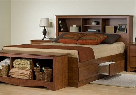wooden beds with storage wooden bed frame with storage with modern bedroom Modern