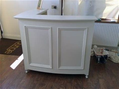 shabby chic reception desk french style shabby chic l shape reception desk retail cash desk with moulded panel front