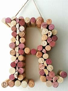 cork letter r cork letters pinterest cork letters With wine cork crafts letters