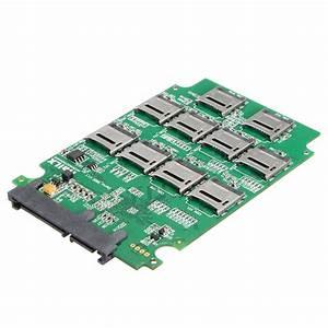 Sd To Hdd : 10x micro sd tf memory card to sata ssd adapter raid hard ~ Jslefanu.com Haus und Dekorationen