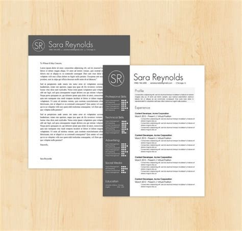 Free Fancy Resume Templates by Fancy Resume Template Cover Letter Template The Resume Design Instant