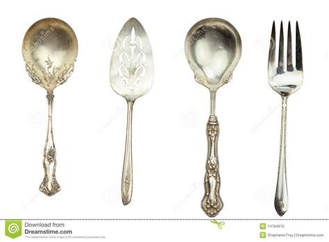 Antique Silverware Stock Photo. Image Of Knife, Retro Antique Furniture Sydney Gumtree White Dresser Paint Hand Painted Plates From Italy Copper Pots Va Dmv License China Dishes England Mirror Texture Bronze Floor Standing Telescope