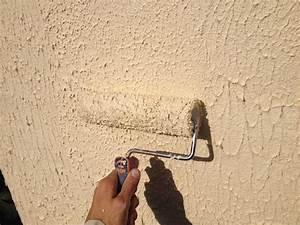 crepi mur exterieur rouleau resine de protection pour With comment faire le crepi exterieur