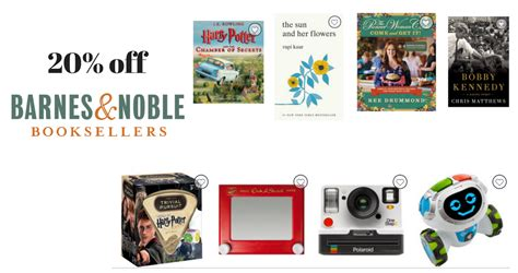 Barnes And Noble Purchase Order by Barnes Noble Coupon 20 Entire Order Southern Savers