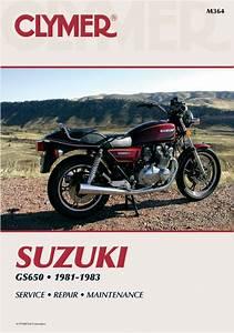 Suzuki Gs650 Motorcycle  1981