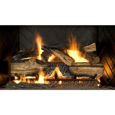 emberglow country split oak   vented natural gas