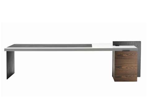 Executive Desk H_o Desk Lac By Poltrona Frau Design