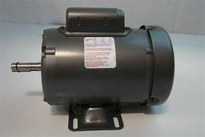 Baldor 1  3hp Motor 110  220v Single Phase 1425rpm L3501