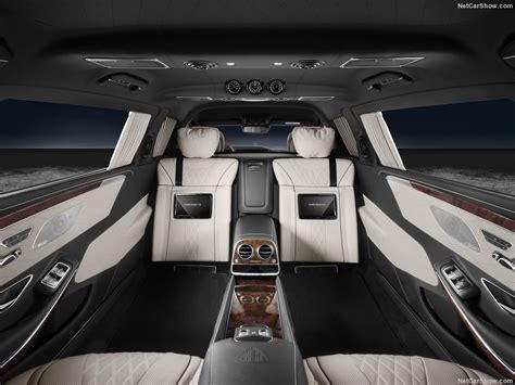 In the interior, exclusive materials and sophisticated highlights testify to the highest of quality, underlining the ultimate in luxury. Mercedes-Benz S600 Pullman Maybach Guard (2018) - picture ...