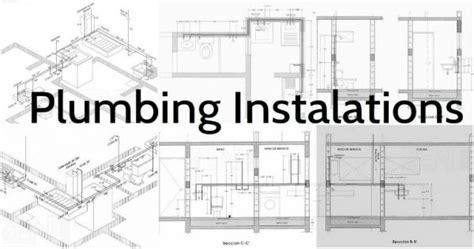 plumbing installations schemes    plumber plans