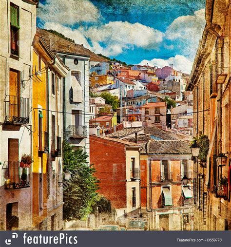 Old Streets Of Spain Picture