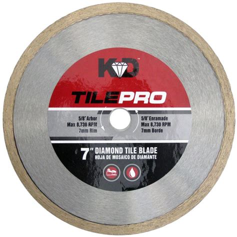 king 7 in tile circular saw blade c70s7