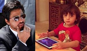 Shah Rukh Khan's son AbRam is a gizmo freak just like him ...