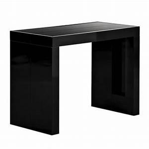 Table Ikea Extensible : table console extensible ikea noir ~ Melissatoandfro.com Idées de Décoration