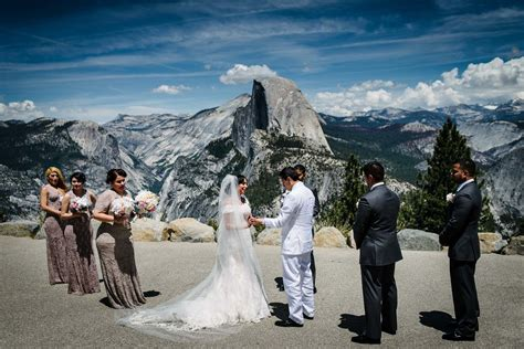 Wedding At Yosemite National Park By Stephane Lemaire