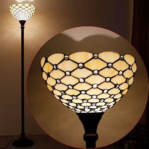 jewel tiffany torchiere floor lamp With tiffany floor lamp repair