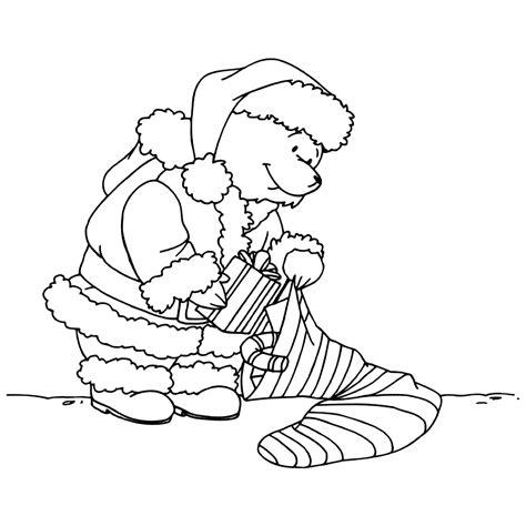 Kleurplaat Paddington by Leuk Voor Kerstkadootjes Beertje Paddington