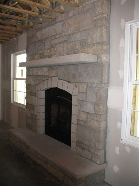interior interesting stone fireplace designs  fit