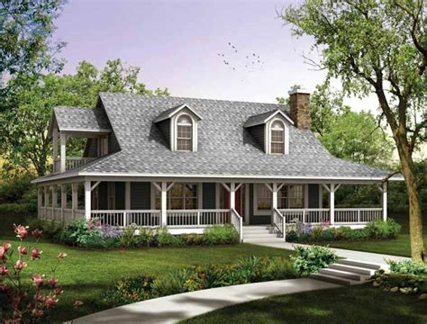 country house design house plans with wrap around porches style house plans