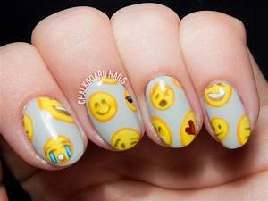 Emoji nail art car interior design
