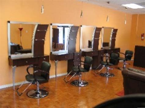 custom  salon stations  designs  ivery
