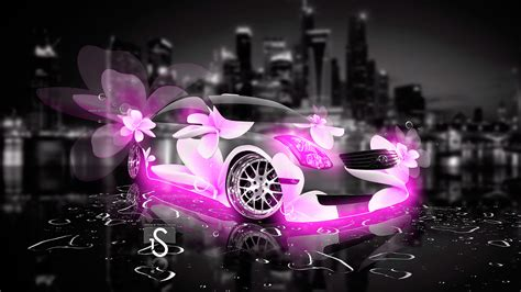 Free Cars Wallpapers Downloads Pink by Infiniti G35 Flowers City Car 2013 El Tony