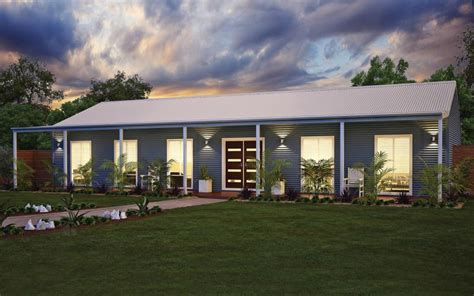 wide span sheds country home attractive aussie retreat steel kit home bluescope steel