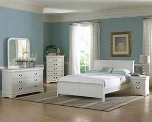White, Full, Size, Bedroom, Set