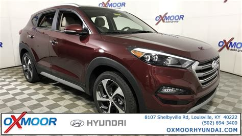 Oxmoor Hyundai Louisville by New 2018 Hyundai Tucson Limited 4d Sport Utility In