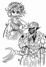 Strange Magic Reblog sketch template