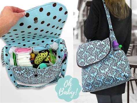 Cute And Useful Diy Diaper Bags Diy Nail Art Supplies Rc Plane India Couch Pillow Covers Home Wiring Pdf Lined Back Tab Curtains Baking Soda Free Toothpaste Entertainment Storage Templates For Photo Booth