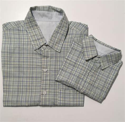 Camisa Pai e filho xadrez no Elo7 vestemeninavestemenino