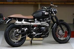 Racing Caf U00e8  Triumph Scrambler 900  U0026quot Paris By Night U0026quot  By Alert U0026 39 Moto
