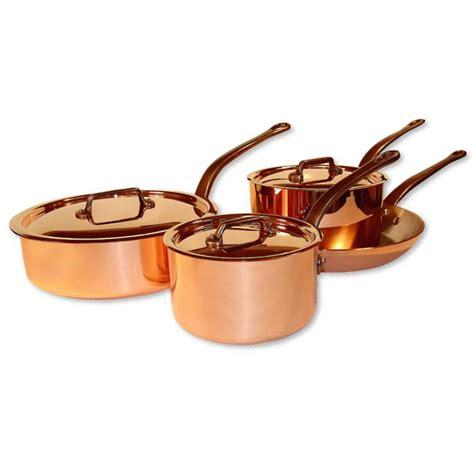 mauviel  piece copper cookware set frontgate