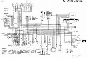 Honda Cbr900  1993 - 1994  Wiring Schematic