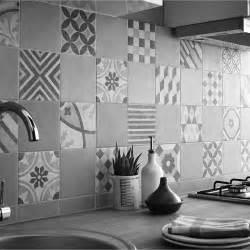 Carrelage Ciment Ancien Castorama by Carrelage Leroy Merlin Gatsby Artens Gris Patchwork Fa 231 On