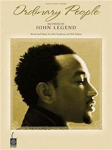MindaMusic Store: John Legend: Ordinary People PV Sheet ...
