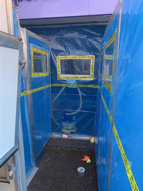 setup   day  asbestos removal asbestos