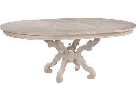 driftwood round dining table hekman suttons bay driftwood baroque round dining table