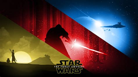 Star Wars Episode 4 Wallpaper Star Wars Episode Vii The Force Awakens Fan Art Wallpapers Hd Desktop And Mobile Backgrounds
