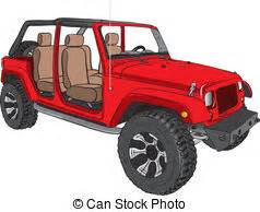 red jeep clipart land vehicle clip art and stock illustrations 8 349 land