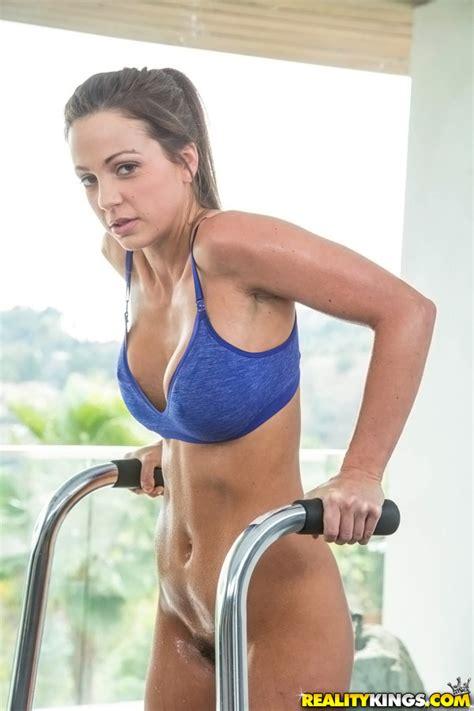 sporty babes like a sexy workout photos abigail mac ryan ryans milf fox
