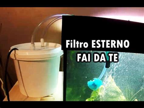 ladari fai da te filtro esterno per acquario fai da te