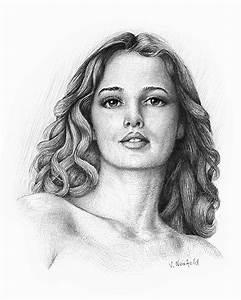 Kunst Zeichnungen Bleistift : mia schraffurtechnik frau akt portrait von viktor neufeld bei kunstnet ~ Yasmunasinghe.com Haus und Dekorationen