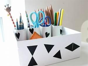 Schreibtisch Organizer Basteln : diy aufbewahrung organisation schreibtisch im kinderzimmer lifestylemommy ~ Eleganceandgraceweddings.com Haus und Dekorationen