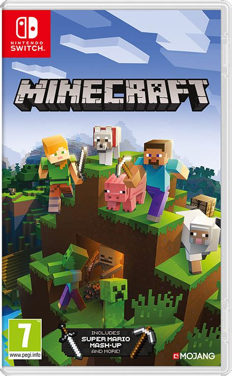 minecraft nintendo switch games nintendo