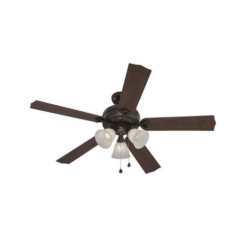 harbor breeze fans reviews shop harbor breeze barnstaple bay 52 in bronze indoor
